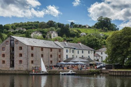 View of the Steam Packet Inn in Totnes Editorial