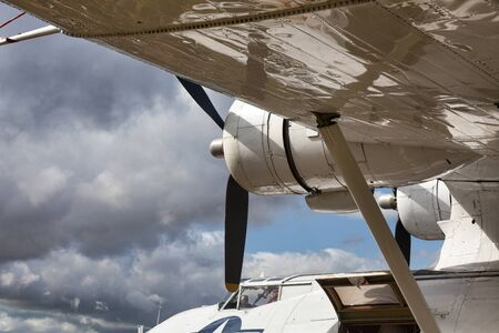 Close-up of a Catalina flying boat photo