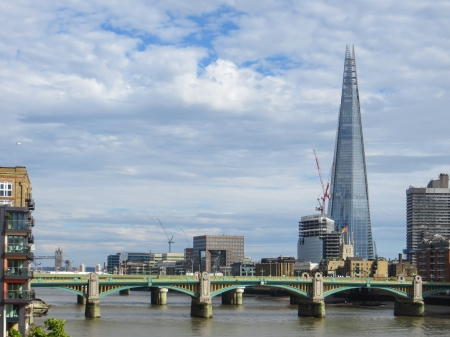 shard of glass: The Shard in London