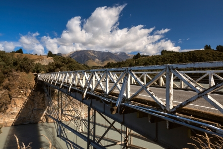 Rakaia Gorge Bridge photo
