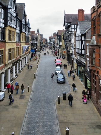 chester: Chester City Centre Editorial