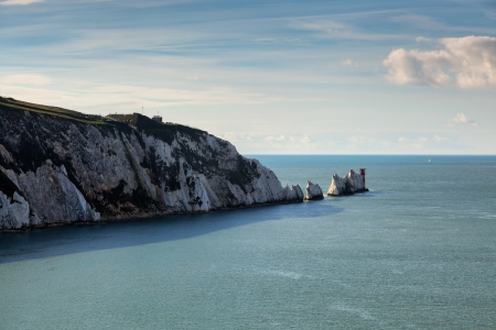 wight: View of the Needles Isle of Wight