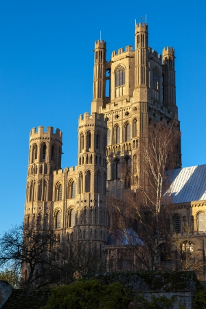 cambridgeshire: Exterior view of Ely Cathedral