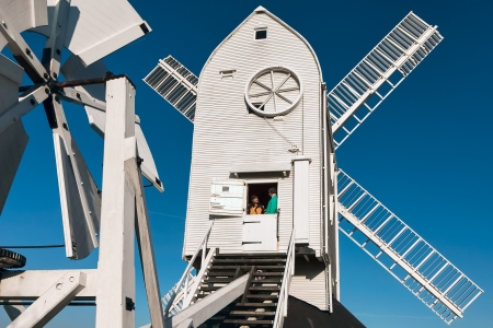 detailed view: Detailed view Jill Windmill Stock Photo