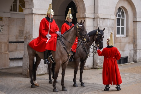 dismounted: Lifeguards of the Queens Household Cavalry