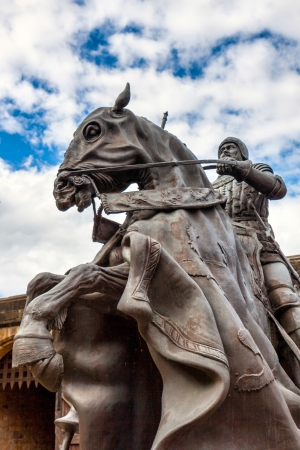 harry: Statue of Harry Hotspur at Alnwick Castle