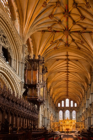 Interior view of Ely Cathedral