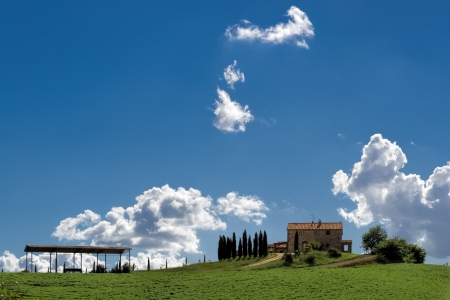 val d orcia: Landbouwgrond in Val d'Orcia