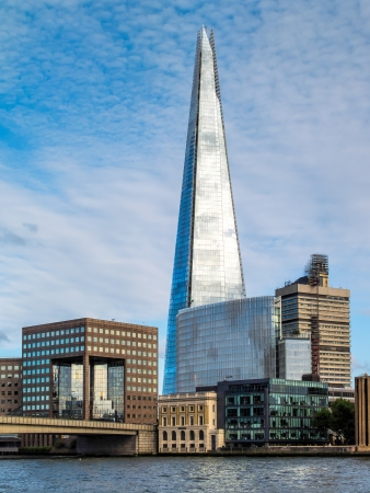 Ths Shard building in London Stock Photo