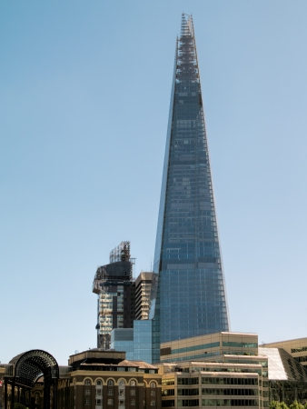 tallest: Ths Shard building in London Stock Photo