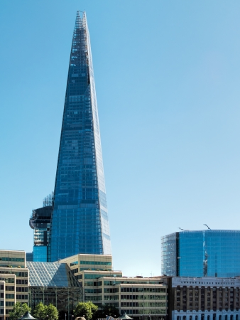 Ths Shard building in London 免版税图像