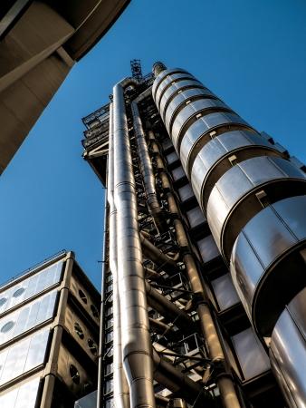 lloyd's: Lloyds of London building Editorial