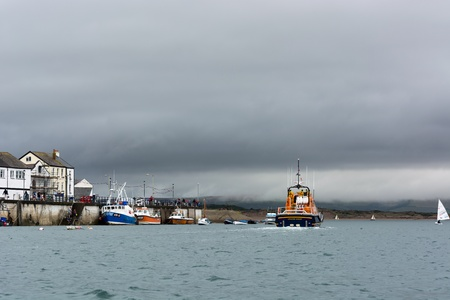 lifeboat: Lifeboat off Appledore
