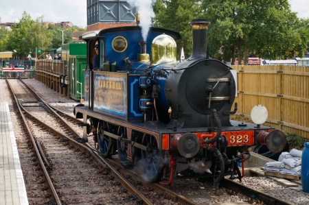 grinstead: Bluebell steam engine in East Grinstead