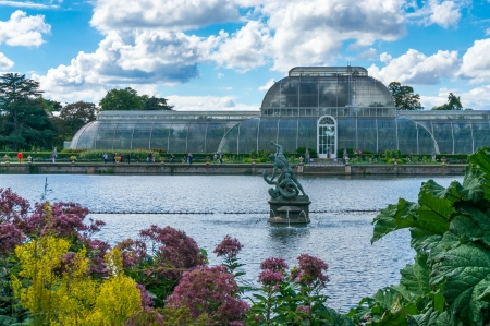 Palm House at Kew Gardens Editorial