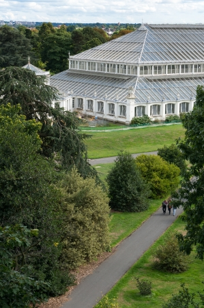 vertical format: The Temperate House at Kew Gardens