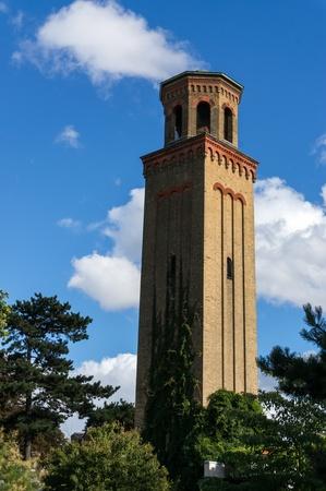 the campanile: The Italianate Campanile Kew Gardens