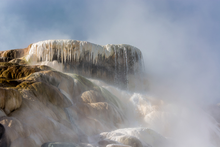 Mammoth Hot Springs photo