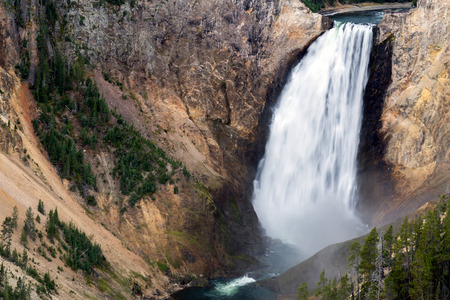 Lower Yellowstone Falls photo