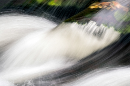 watersmeet: East Lyn River Stock Photo