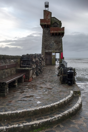 lynmouth: The tower at Lynmouth
