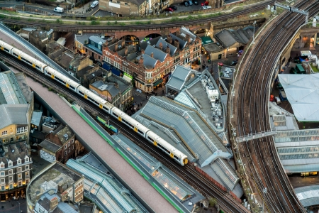 viaducts: View from the Shard Editorial