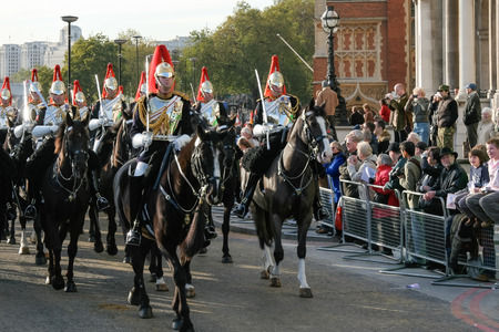 Blues and Royals at the Lord Mayor's show Stock Photo - 25578549