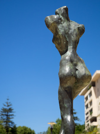 mujer: Salvador Dali sculpture in Marbella