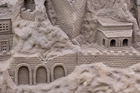 Sand sculpture at Benalmadena photo