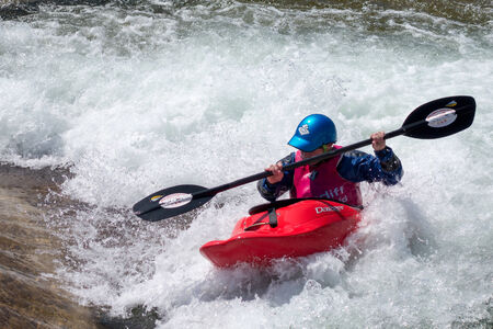 cardiff: Water Sports at the Cardiff International White Water Centre Editorial