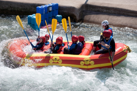 bollards: Water Sports at the Cardiff International White Water Centre Editorial