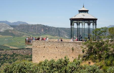 ronda: Viewpoint in Ronda Spain