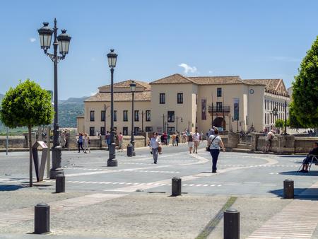 Street scene in Ronda
