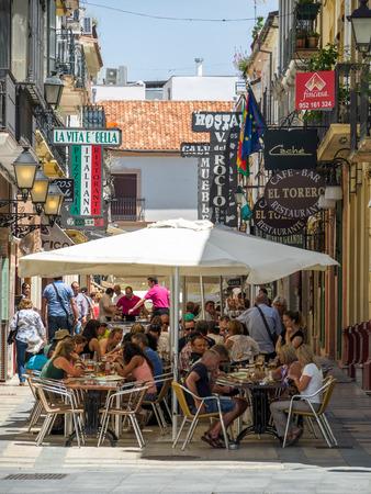 ronda: Street scene in Ronda