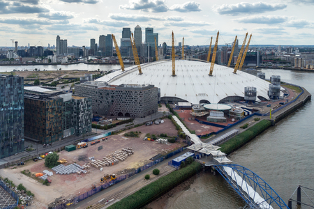 o2: View of the O2 building Editorial