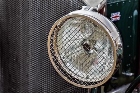 headlamp: Old Bentley Headlamp