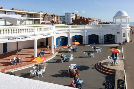 Cafe in the Grounds of the De La Warr Pavilion in Bexhill-on-Sea