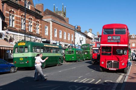grinstead: Vintage Bus Rally in East Grinstead West Sussex