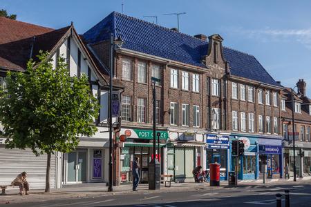 grinstead: View of London Road shops in East Grinstead