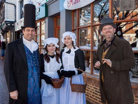 Dickensian day in East Grinstead