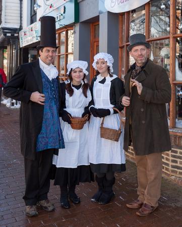 dickensian: Dickensian day in East Grinstead