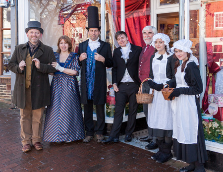 dickensian: Dickensian day in East Grinstead