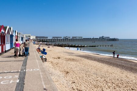 southwold: View of the pier at Southwold