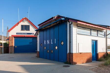 lifeboat station: RNLI station at Hunstanton Norfolk Editorial