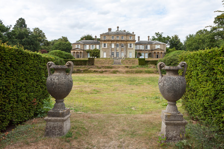 grinstead: View of Hammerwood Park House