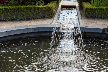 water feature: Water feature in Alnwick Castle gardens