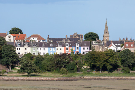 View of Alnmouth village