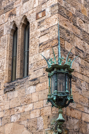 The Green Lamp at Alnwick Castle photo