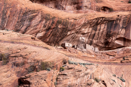 Old Indian dwellings photo