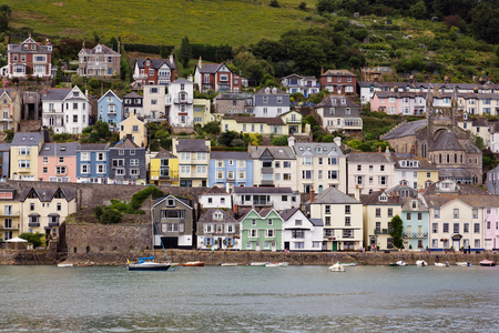 afloat: View across the River Dart to Dartmouth